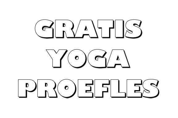 Yoga proefles Groningen